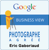badge photographe agr�� Google Business View